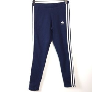 Adidas blue and white pants